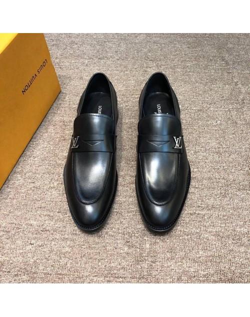 ルイヴィトン 靴 オシャレ高品質レザー ビジネス風 ファッション人気 男性向け