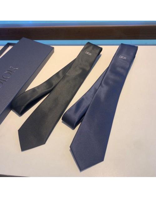 ディオール ネクタイ お洒落モノグラム シルク製 結婚式 プレゼント ビジネス ブリティッシュスタイル 無地 メンズ向け